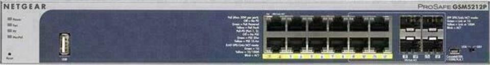 Netgear M4100-D12G-PoE+