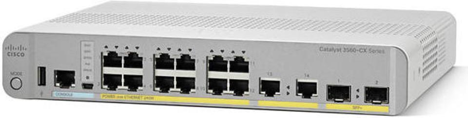 Cisco Catalyst WS-C3560CX-8PT-S Switch