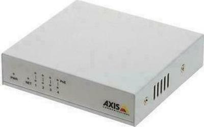 Axis Communications 4-port 10/100 Mbps PoE+