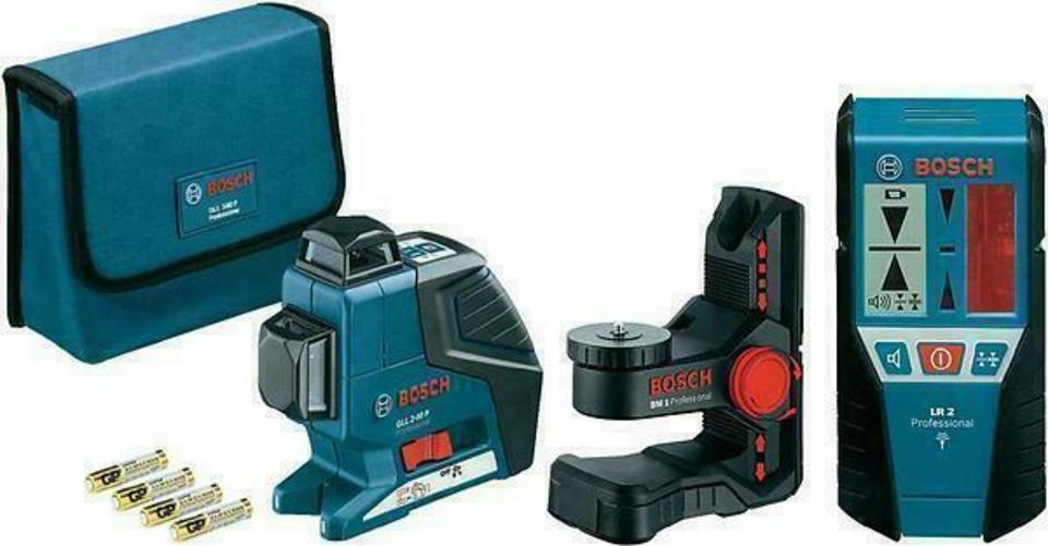 Bosch GLL 2-80 P + BM1 LR2 laser measuring tool