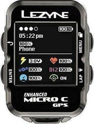 Lezyne Micro C GPS Bicycle Computer