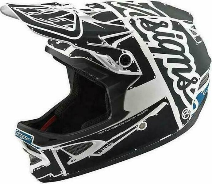 Troy Lee Designs D3 Fiberlite bicycle helmet