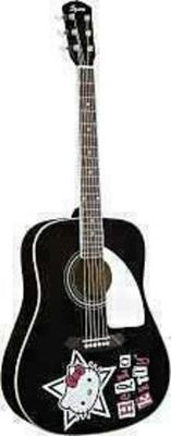 Squier Hello Kitty Acoustic Guitar