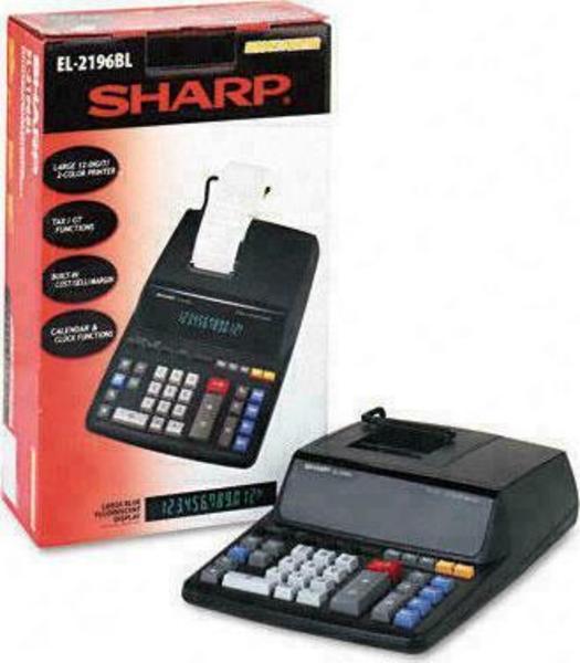 Sharp EL-2196BL Kalkulator