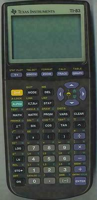Texas Instruments TI-83 Kalkulator