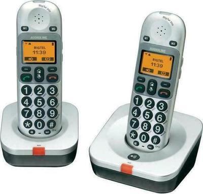 Audioline Amplicomms BigTel 202 Duo Cordless Phone