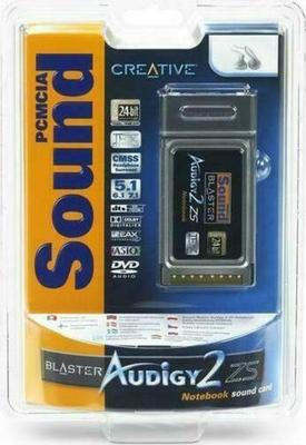 Creative Sound Blaster Audigy 2 ZS Notebook Card