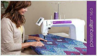 Pfaff Power Quilter 16.0 Sewing Machine