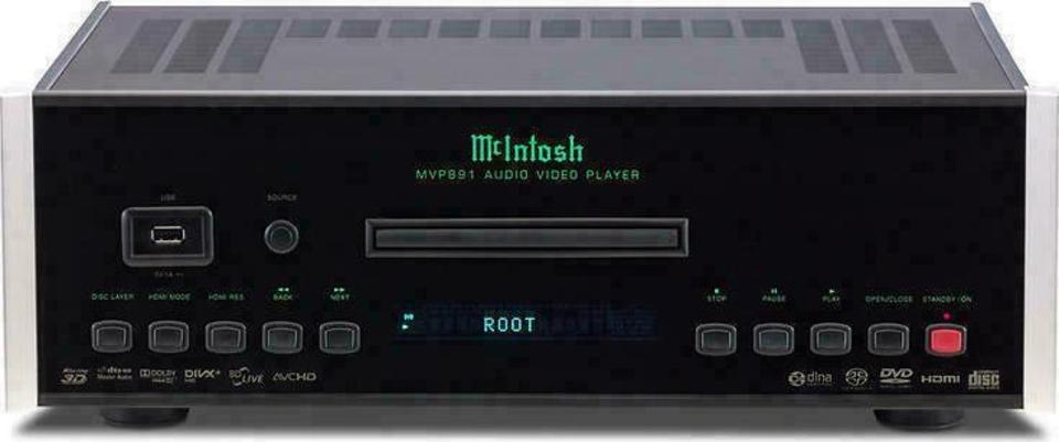 McIntosh MVP891 Blu Ray Player