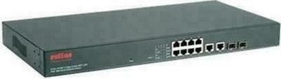 """Roline 19"""" PoE Fast Ethernet Web Smart Switch"""
