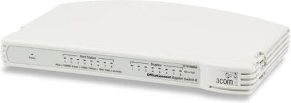 3Com OfficeConnect Gigabit Switch 8 (3C1670800A)