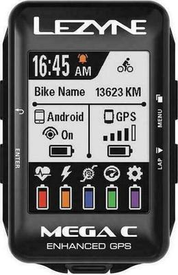 Lezyne Mega C GPS Bicycle Computer