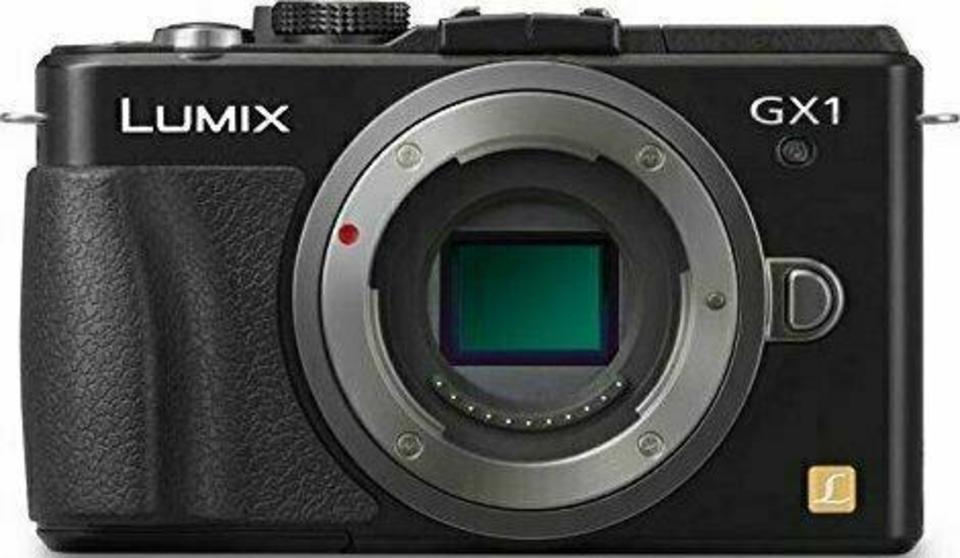 Panasonic Lumix DMC-GX1 front