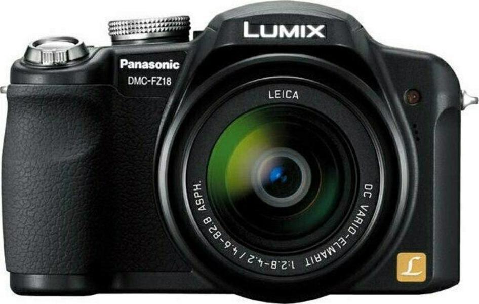 Panasonic Lumix DMC-FZ18 front