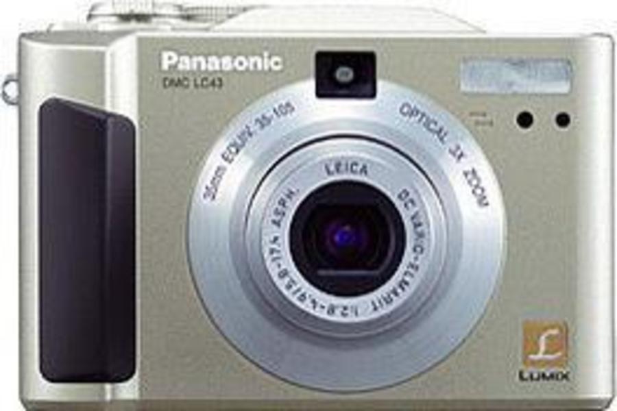 Panasonic Lumix DMC-LC43 front