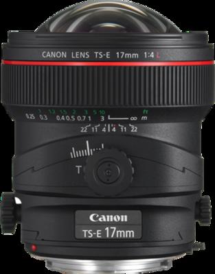 Canon TS-E 17mm f/4L Lens