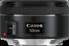 Canon EF 50mm f/1.8 STM Lens top