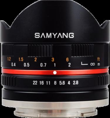 Samyang 8mm F2.8 UMC Fisheye Lens