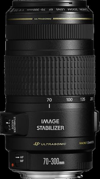 Canon EF 70-300mm f/4-5.6 IS USM Lens