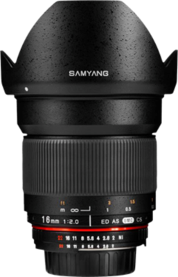 Samyang 16mm f/2.0 ED AS UMC CS Lens