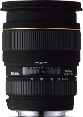 Sigma 24-70mm F2.8 EX DG Macro Lens