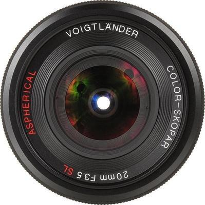 Voigtlander 20mm F3.5 Color Skopar SL II Lens