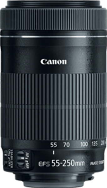 Canon EF-S 55-250mm f/4-5.6 IS lens