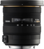 Sigma 10-20mm F3.5 EX DC HSM Lens top