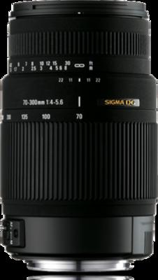 Sigma 70-300mm F4-5.6 DG OS Lens