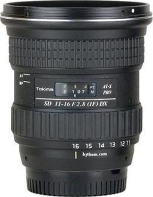 Tokina AT-X Pro 11-16mm f/2.8 DX Lens