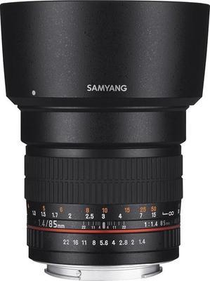 Samyang 85mm F1.4 Aspherical IF Lens