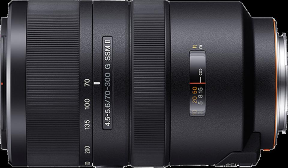 Sony DSLR Lens 70-300mm F4.5-5.6 G SSM II Zoom Lens for Sony Alpha ...