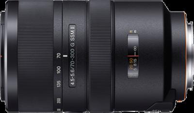 Sony 70-300mm F4.5-5.6 G SSM Lens
