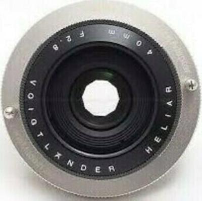 Voigtlander VM 40mm F2.8 Heliar Lens