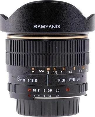 Samyang 8mm F3.5 Aspherical IF MC Fisheye Lens