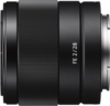 Sony FE 28mm F2 lens left