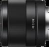 Sony FE 28mm F2 Lens left
