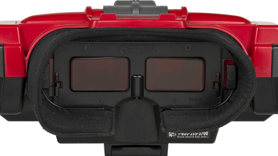 Nintendo Virtual Boy Game Console