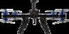 3D Robotics X8+ Drone front