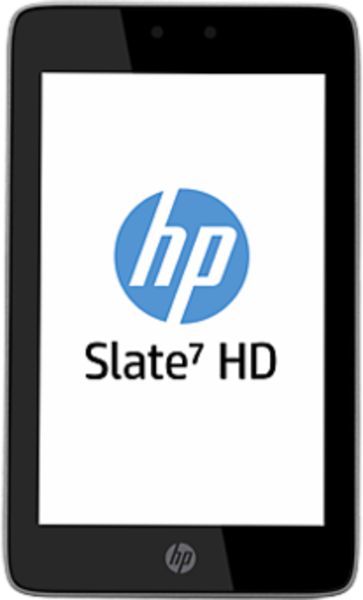 HP Slate 7 HD 3400 tablet