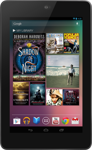 Asus Nexus 7 3G tablet