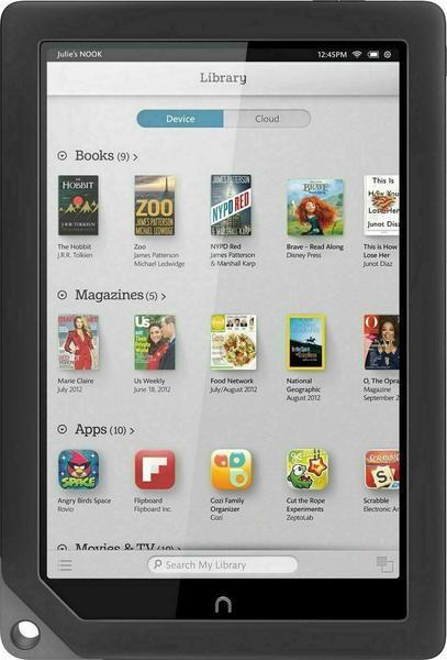 """Barnes & Noble NOOK HD+ 1 GB / 32 9"""" front"""