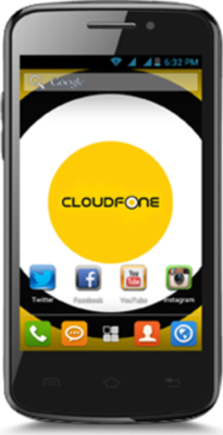 Cloudfone Excite Mobile Phone