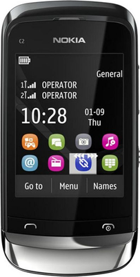 Nokia C2-06 Mobile Phone