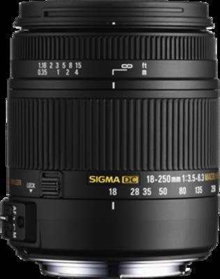 Sigma 18-250mm F3.5-6.3 DC Macro OS HSM Lens
