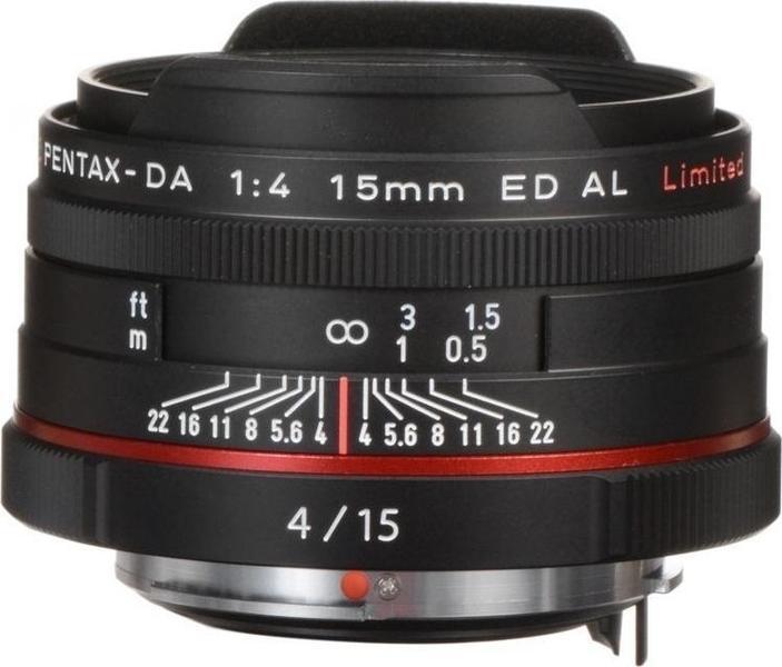 Pentax HD DA 15mm F4 ED AL Limited Lens