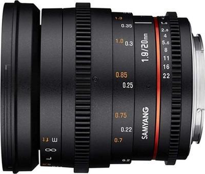 Samyang 20mm F1.8 ED AS UMC Lens