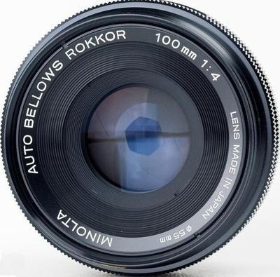 Minolta Auto Bellows Rokkor (-X) 100mm f4 MC-X (1976) Lens