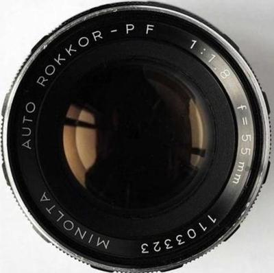 Minolta Auto Rokkor-PF 55mm f1.8 SR (1960) Lens