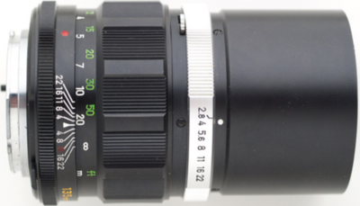 Minolta MC Tele Rokkor(-X) 135mm f2.8 MC-X (1975) Lens